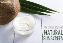 Photo of Effective Homemade sunscreen with aloe vera and coconut oil
