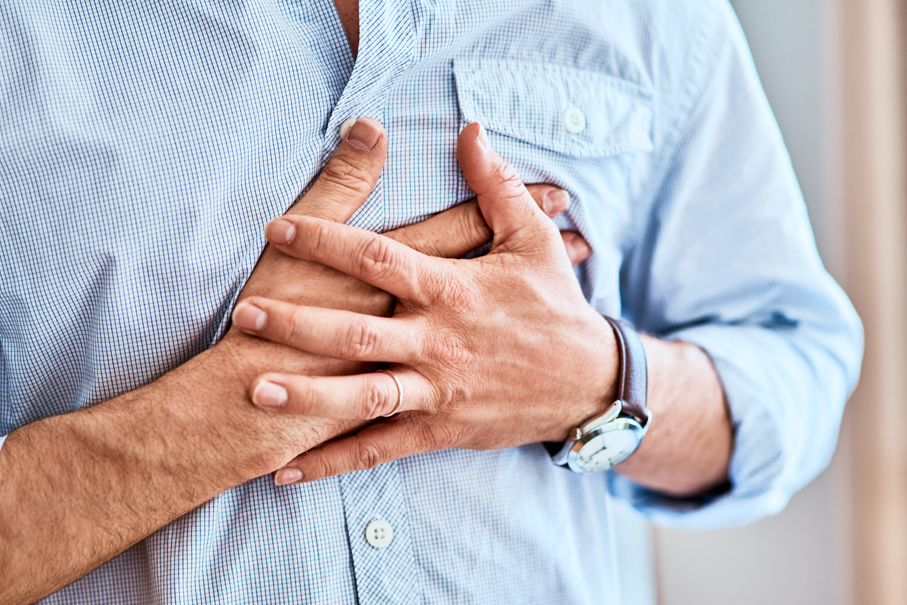 Photo of Chest Pain: Symptoms & Signs