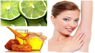 Photo of HONEY AND LEMON FOR ARMPIT REMOVER