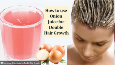 Photo of HOW TO USE ONION JUICE FOR DOUBLE HAIR GROWTH