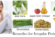 Photo of 8 Effective Home Remedies For Irregular Periods